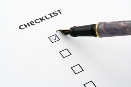 Check list for buying a home in Burnt Hills NY